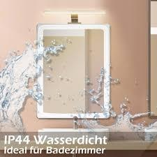 led spiegelleuchte wandleuchte 40cm 8w 640lm wowatt spiegelle led bad 4000mm badezimmer 2800k warmweiß badleuchte ip44 wandmontage schankle