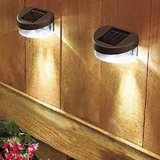shocking wall mount solar light furnishing wooden high quality