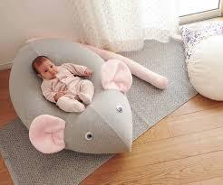Huge Mouse Beanbag Pillow Baby Bean Bag Kids Pouf