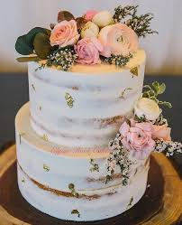 Gluten Free And Dairy Semi Naked Wedding Cake By Elysia Root Cakes Recipes