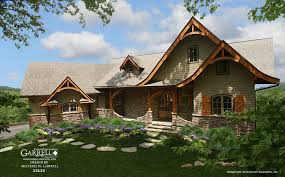 Hot Springs Cottage Gable House Plan 12132 Mountain Style Plans Rustic