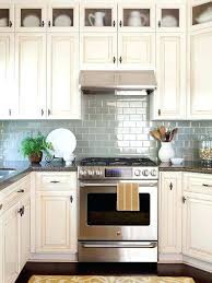 Cream Kitchen Cabinets Inspiring Colored Decor Ideas Cabinet Paint