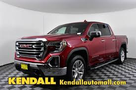 100 4wd Truck New 2019 GMC Sierra 1500 SLT 4WD Crew Cab For Sale D490042