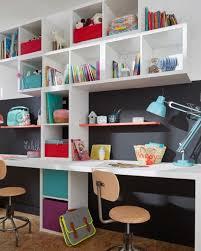 amenagement bureau ikea étagère modulable 2 cases coloris blanc mixxit chambre des