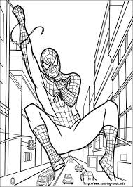 Great Spiderman Color Sheet 11 With Additional Download Coloring Pages