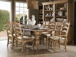 Farmhouse Style Dining Room Design Ideas Wooden Furniture Cupboard Doorless Cabinets Basic Elements In How To Recognize The