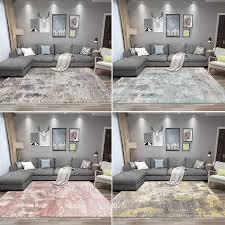 moderne abstrakte tinte teppich und teppich rosa blau gelb teppiche wohnzimmer schlafzimmer küche teppiche nachttisch studie boden matten