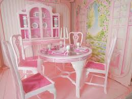 Barbie Fashion Dining Room Set 9478 1984 MADE IN USA Dream Furniture Collection