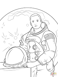 Click The Neil Armstrong Coloring Pages