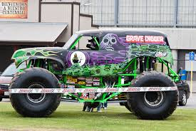 28+ Collection Of Grave Digger Monster Truck Drawing | High Quality ...