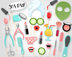 Spa Day Printable Photo Props