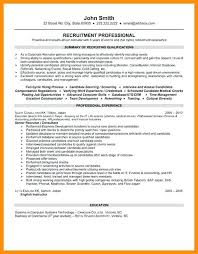 Recruiter Resumes Sample Executive Resume Example 8 Senior