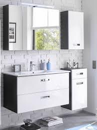 manhattan badezimmer set 4 tlg grau weiß hochglanz günstig möbel küchen büromöbel kaufen froschkönig24
