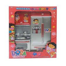 Dora The Explorer Kitchen Set by Buy A2z Birthday Special Gift Offer Dora Girls Kitchen Set Toy
