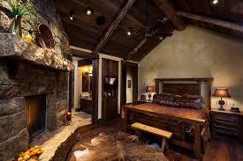 Warm Rustic Master Bedroom