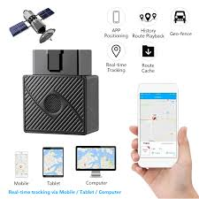100 Truck Gps App OBD2 GPS Tracker Real Time Vehicle Tracking Device OBD II For Car Locator