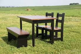 Shaker s Child Table Set from Peaceful Valley Furniture