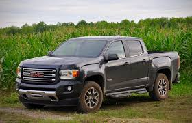 Pickup Review: 2016 GMC Canyon SLE 4WD   Driving 2015 Ford F150 Gas Mileage Best Among Gasoline Trucks But Ram 10 Cheapest New 2017 Pickup Whats To Come In The Electric Truck Market Comparison 2014 Chevrolet Silverado 1500 Vs 2009 Colorado V8 Instrumented Test Car And Driver Top 5 Philippines Carmudi Honda Ridgeline Reviews Price Photos Specs Under 100 Caforsalecom Blog 2019 Chevy The 2018 Ultimate Buyers Guide Motor Trend Toyota Truck Size Comparison Wow