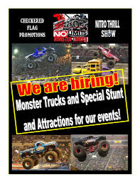 2019 Monster Trucks & Special Attractions. . . . . . - Monster Jam In Reliant Stadium Houston Tx 2014 Full Show Echternkamps Monster Truck Dream Close To Fruition Heraldwhig Truck Thrdown Eau Claire Big Rig Guide The Portland Las Vegas March 23 2019 Giveaway And Presale Code Find Family Fun Acvities At Englishtown Raceway Park For New Beach Devastation Myrtle Us Bank Mpls Dtown Council Trucks Sublimity Harvest Festival All Star Phoenix Arizona State Fair Billings Feb 16th No Limits Project Backflip Bad