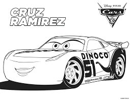 Coloring Pages Disney Cars 2 Free Lightning Mcqueen Full Size