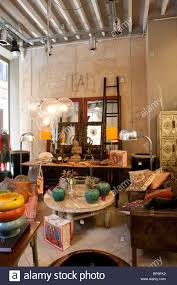 furniture shop high resolution stock photography and images