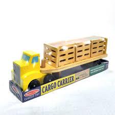 100 Melissa And Doug Trucks Cargo Carrier Wooden Pretend Toys Cars Truck EBay