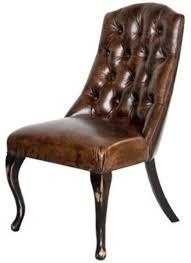 casa padrino chesterfield esszimmerstuhl vintage dunkelbraun antik schwarz edler echtleder stuhl chesterfield möbel