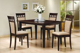 5 Piece Oval Dining Room Sets by Amazon Com 5 Piece Dining Set In Rich Cappuccino Coaster