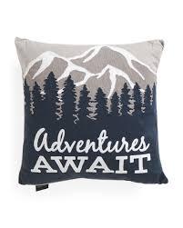 Tj Maxx Christmas Throw Pillows by 20x20 Adventures Await Pillow Printed Pillows T J Maxx