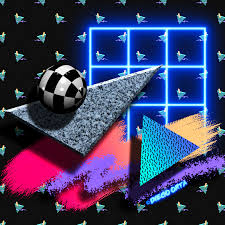 80s Abstract New Wave Art 2 On Behance
