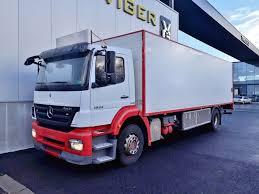 100 Mercedes Box Truck MERCEDESBENZ Axor 1824 L Closed Box Trucks For Sale From Belgium