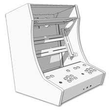 Bartop Arcade Cabinet Plans Pdf by Kit Bartop 2 Joueurs Kit Bois Polycarbonate Pour Auto