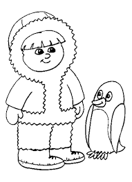 Penguin Coloring Pages 13