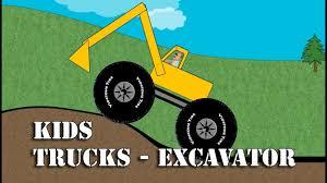 100 Youtube Trucks For Kids Excavator Monster Truck YouTube