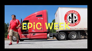 60 Epic Week, Trucker Jim's Truckin Journey - YouTube