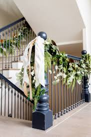 Staircase Bannister Christmas Decorations. Farmhouse Garland That ... Christmas Decorations And Christmas Decorating Ideas For Your Garland On Banister Ideas Unique Tree Ornaments Very Merry Haing Railing In Other Countries Kids Hangers Single Door Hanger World Best Solutions Of Time Your Averyrugsc1stbed Bath U0026 Shop Hooks At Lowescom 25 Stairs On Pinterest Frontgatesc Neauiccom Acvities 2017