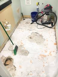 Faux Marble Hexagon Floor Tile by Powder Room Makeover Faux Marble Tile Floor Bless U0027er House