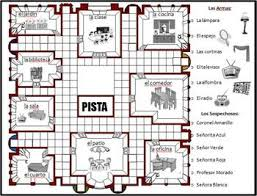 Spanish Clue Board Game