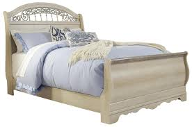 bedroom queen sleigh bed frame tufted bed frame queen ashley