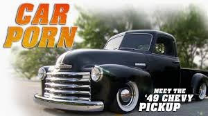 Car Porn: 1949 Chevy Pickup - YouTube 1949 Chevy Truck Black Light Trucks Charles Beards Lmc Life 1949chevrolet3100truckgrillguard Lowrider Chevrolet 3600 Hot Rod Pickup 350 V8 Youtube Startup Chevy Truck 3100 Burnout Full Hd Wallpaper And Background 1920x1080 Id Nostalgia On Wheels Amazing 3window Connors Motorcar Company
