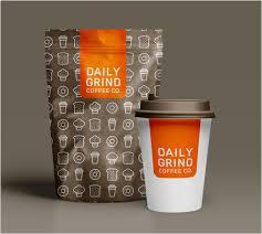 Studio JQ Logo Design Daily Grind Coffee Co