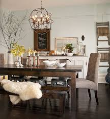 Dining Chairs Accent Grey Wingback Chair Vintage Style Room Buffet Rustic