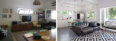 A Look At The Apartment Before And After Renovation