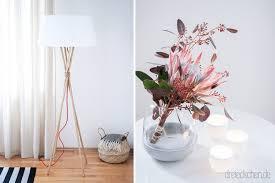 gemütliche beleuchtung und scandi deko fürs wohnzimmer
