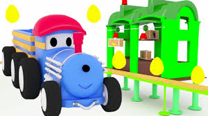 The Egg Race Learn Numbers with Ted the Trains