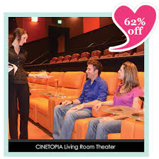 Cinetopia Living Room Theater Vancouver by Cinetopia 2 Tickets Up To 10 Drink Voucher For 21