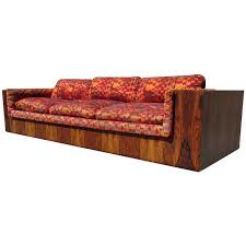 milo baughman for thayer coggin rosewood sofa alexander girard