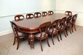 Victorian Dining Table And Chairs Quality Mahogany Extending Used Victoria Room
