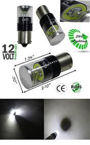 s25 6 watt mcob 12 volt dc l e d bulb 360 degree automotive led