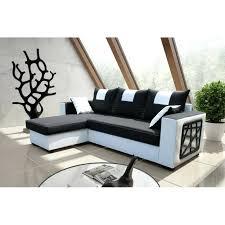canap noir et blanc canape noir et blanc convertible sofa cuir noir canape dangle et
